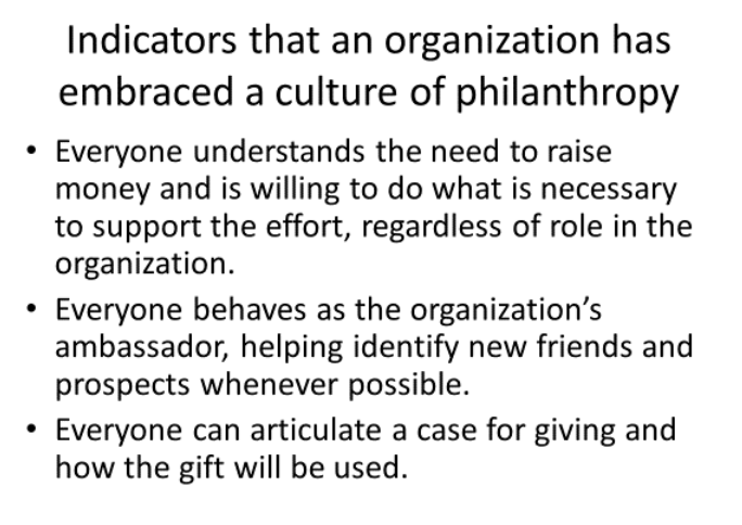 Advice from the Expert – Philanthropic Service for Institutions